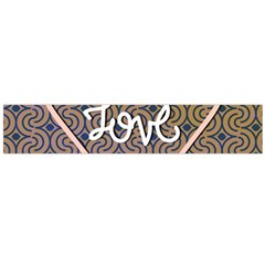 I Love You Love Background Flano Scarf (large)