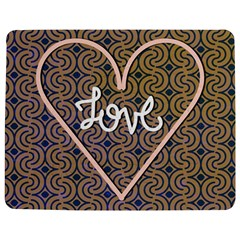 I Love You Love Background Jigsaw Puzzle Photo Stand (rectangular)