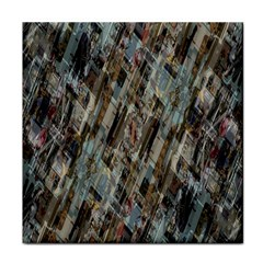 Abstract Chinese Background Created From Building Kaleidoscope Tile Coasters