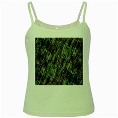 Abstract Chinese Background Created From Building Kaleidoscope Green Spaghetti Tank