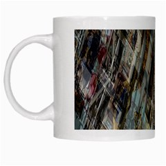 Abstract Chinese Background Created From Building Kaleidoscope White Mugs