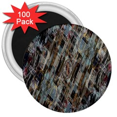 Abstract Chinese Background Created From Building Kaleidoscope 3  Magnets (100 Pack)