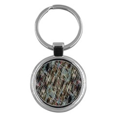 Abstract Chinese Background Created From Building Kaleidoscope Key Chains (Round)