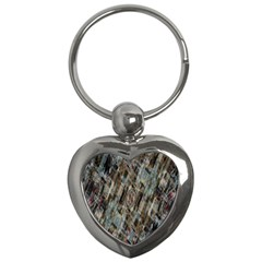 Abstract Chinese Background Created From Building Kaleidoscope Key Chains (heart)