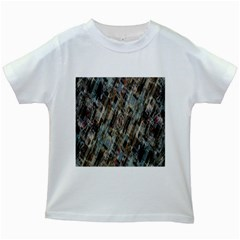 Abstract Chinese Background Created From Building Kaleidoscope Kids White T-Shirts