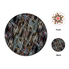 Abstract Chinese Background Created From Building Kaleidoscope Playing Cards (round)