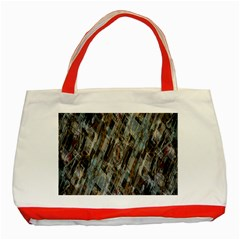 Abstract Chinese Background Created From Building Kaleidoscope Classic Tote Bag (red)