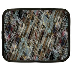 Abstract Chinese Background Created From Building Kaleidoscope Netbook Case (large)