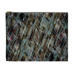Abstract Chinese Background Created From Building Kaleidoscope Cosmetic Bag (xl)
