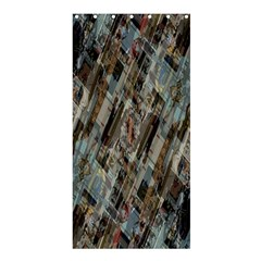 Abstract Chinese Background Created From Building Kaleidoscope Shower Curtain 36  x 72  (Stall)
