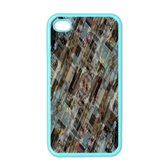 Abstract Chinese Background Created From Building Kaleidoscope Apple iPhone 4 Case (Color)