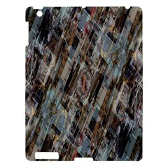 Abstract Chinese Background Created From Building Kaleidoscope Apple iPad 3/4 Hardshell Case