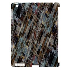 Abstract Chinese Background Created From Building Kaleidoscope Apple iPad 3/4 Hardshell Case (Compatible with Smart Cover)