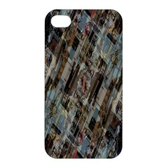 Abstract Chinese Background Created From Building Kaleidoscope Apple iPhone 4/4S Premium Hardshell Case