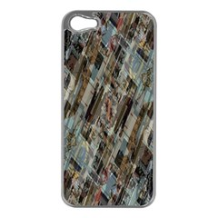 Abstract Chinese Background Created From Building Kaleidoscope Apple iPhone 5 Case (Silver)