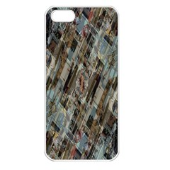 Abstract Chinese Background Created From Building Kaleidoscope Apple Iphone 5 Seamless Case (white)