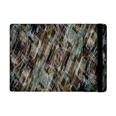 Abstract Chinese Background Created From Building Kaleidoscope Apple iPad Mini Flip Case