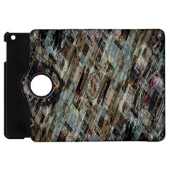Abstract Chinese Background Created From Building Kaleidoscope Apple iPad Mini Flip 360 Case