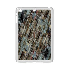 Abstract Chinese Background Created From Building Kaleidoscope iPad Mini 2 Enamel Coated Cases