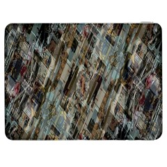 Abstract Chinese Background Created From Building Kaleidoscope Samsung Galaxy Tab 7  P1000 Flip Case