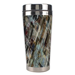 Abstract Chinese Background Created From Building Kaleidoscope Stainless Steel Travel Tumblers