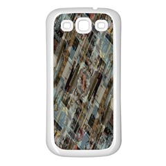 Abstract Chinese Background Created From Building Kaleidoscope Samsung Galaxy S3 Back Case (White)