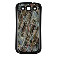 Abstract Chinese Background Created From Building Kaleidoscope Samsung Galaxy S3 Back Case (black)