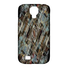 Abstract Chinese Background Created From Building Kaleidoscope Samsung Galaxy S4 Classic Hardshell Case (pc+silicone)