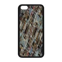 Abstract Chinese Background Created From Building Kaleidoscope Apple iPhone 5C Seamless Case (Black)