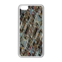 Abstract Chinese Background Created From Building Kaleidoscope Apple iPhone 5C Seamless Case (White)