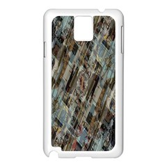 Abstract Chinese Background Created From Building Kaleidoscope Samsung Galaxy Note 3 N9005 Case (white)