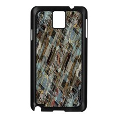 Abstract Chinese Background Created From Building Kaleidoscope Samsung Galaxy Note 3 N9005 Case (Black)