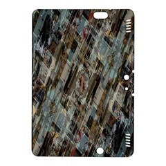 Abstract Chinese Background Created From Building Kaleidoscope Kindle Fire HDX 8.9  Hardshell Case