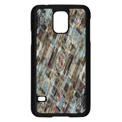 Abstract Chinese Background Created From Building Kaleidoscope Samsung Galaxy S5 Case (black)