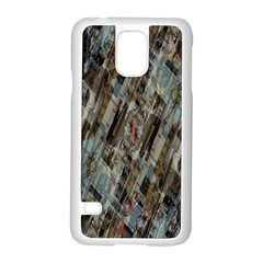 Abstract Chinese Background Created From Building Kaleidoscope Samsung Galaxy S5 Case (White)