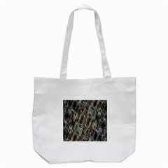 Abstract Chinese Background Created From Building Kaleidoscope Tote Bag (White)
