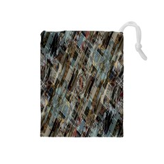 Abstract Chinese Background Created From Building Kaleidoscope Drawstring Pouches (Medium)