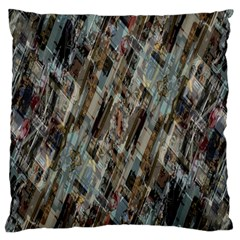 Abstract Chinese Background Created From Building Kaleidoscope Standard Flano Cushion Case (One Side)