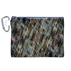 Abstract Chinese Background Created From Building Kaleidoscope Canvas Cosmetic Bag (XL)