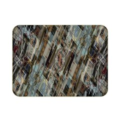 Abstract Chinese Background Created From Building Kaleidoscope Double Sided Flano Blanket (Mini)