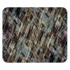 Abstract Chinese Background Created From Building Kaleidoscope Double Sided Flano Blanket (Small)