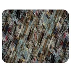 Abstract Chinese Background Created From Building Kaleidoscope Double Sided Flano Blanket (medium)