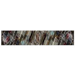 Abstract Chinese Background Created From Building Kaleidoscope Flano Scarf (small)