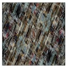 Abstract Chinese Background Created From Building Kaleidoscope Large Satin Scarf (Square)