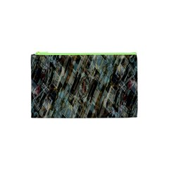 Abstract Chinese Background Created From Building Kaleidoscope Cosmetic Bag (xs)