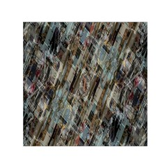 Abstract Chinese Background Created From Building Kaleidoscope Small Satin Scarf (Square)