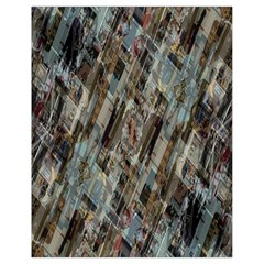 Abstract Chinese Background Created From Building Kaleidoscope Drawstring Bag (small)