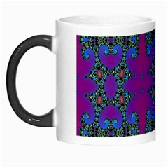 Purple Seamless Pattern Digital Computer Graphic Fractal Wallpaper Morph Mugs