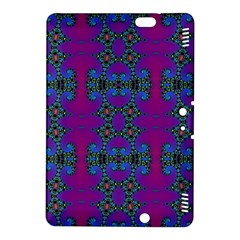 Purple Seamless Pattern Digital Computer Graphic Fractal Wallpaper Kindle Fire HDX 8.9  Hardshell Case
