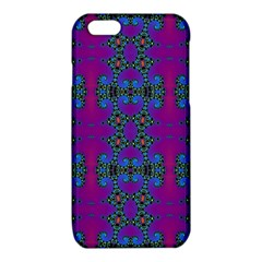 Purple Seamless Pattern Digital Computer Graphic Fractal Wallpaper iPhone 6/6S TPU Case